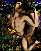 John Waiblinger - Holding your Flowers - 2