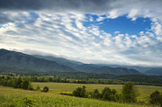 Cades Cove Photo Posters - Hole in the Sky Poster by Andrew Soundarajan