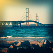 Brady D Hebert - Holga Mackinac Bridge
