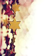 Holiday Background Print by Jelena Jovanovic