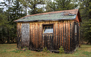 Old Cabins Prints - Holiday Cabins of the Past 3 Print by Deborah Smolinske