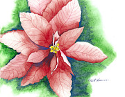 Robert  ARTSYBOB Havens - Holiday Fair Poinsettia