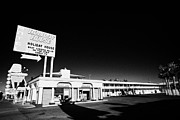 Lodging House Posters - holiday house motel old fashioned Las Vegas lodging Nevada USA Poster by Joe Fox