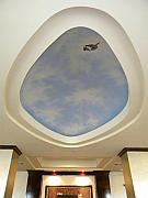 Frank Wilson - Holiday Inn Express Ceiling Dome Mural