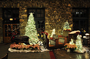 Grove Park Inn Prints - Holiday Sleigh HSP Print by Jim Brage