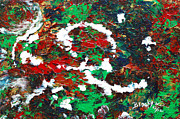 Abstract Expressionist Art - Holiday Spirit by Donna Blackhall