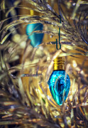 Light Bulb Photos - Holiday Tree by Scott Norris