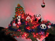 Holidays In Pandaland Print by Ausra Paulauskaite