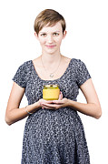 Holistic Naturopath Holding Jar Of Homemade Spread Print by Ryan Jorgensen