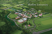 Hollins University Print by Rhett and Sherry  Erb