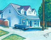 House Pastels - Hollister Home by Michael Foltz