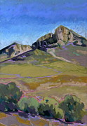 Morros Prints - Hollister Peak Print by Jeanne Miller
