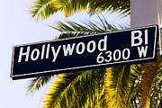 Paul Velgos - Hollywood Boulevard Sign Los Angeles California