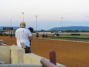 Horses Prints - Hollywood Casino at Charles Town Races - 12128 Print by DC Photographer