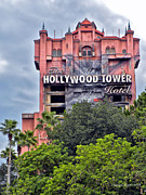 Cinderella Photographs Posters - Hollywood Tower Hotel Walt Disney World Poster by Thomas Woolworth