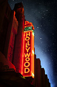 Hollywood Star Framed Prints - Hollywoods Brightest Stars Framed Print by Carter Jones