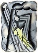 Holocaoust Print by Leon Zernitsky