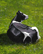 Joyce Geleynse - Holtein Cow Lying Down