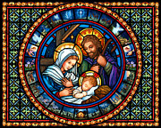 Nativity Digital Art - Holy Family Christmas Story by Randy Wollenmann