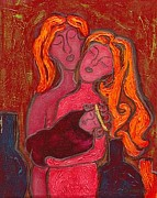 Agnus Art - Holy Family by Jennifer Wilkinson Rynbrandt