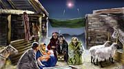 Holy Night Print by Reggie Duffie