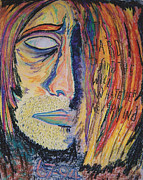 Kurt Cobain Pastels - Homage by Mike Manzi