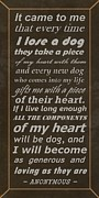 Generous Posters - Homage to the Dogs in Our Lives Poster by Movie Poster Prints