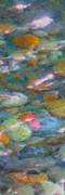 Homage To Van Gogh 1 Print by Carol Groenen