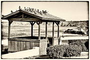 By The Sea Framed Prints - Home by the Sea - Vintage Framed Print by Peter Tellone