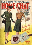 1940Õs Art - Home Chat 1940s Uk Women At War Make by The Advertising Archives