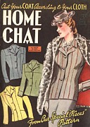 The Advertising Archives - Home Chat 1940s Uk W...