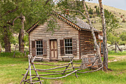 Bannack State Park Photos - Home in Bannack by Sue Smith