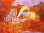 Home In Christiansburg Sketch Print by Kendall Kessler