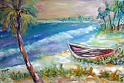 Patricia Taylor Art - Home in Paradise by Patricia Taylor