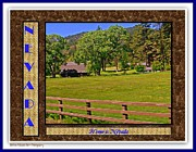 Print On Acrylic Posters - Home Is Nevada Poster by Bobbee Rickard