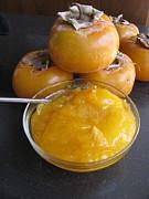 Alfred Ng - home made persimmon jam
