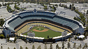Dodger Stadium Photos - Home of the Dodgers by Carol M Highsmith