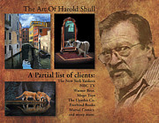 Harold Paintings - Home Page by Harold Shull