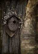 Bird House Prints - Home Print by Robin-lee Vieira