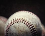Home Run Ball Print by Lisa Russo
