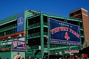Boston Sox Prints - Home Sweet Fenway Print by Stephen Melcher