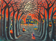 Cauldron Paintings - Home to Broomtree by Christine Altmann