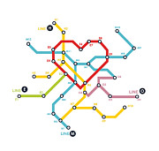 Railway Digital Art Framed Prints - Home where the heart is Framed Print by Budi Satria Kwan