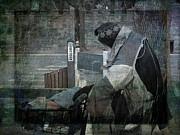Homeless Man Print by Geoffrey Coelho