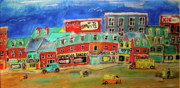 Litvack Naive Art - Homemade Bakery by Michael Litvack