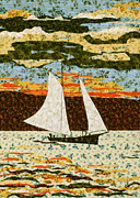 Quilting Tapestries - Textiles - Homer Bound by Jean Baardsen