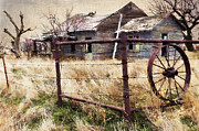 Abandoned Digital Art - Homestead by Betty LaRue
