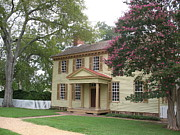 Homestead In Colonial Williamsburg Print by Christiane Schulze Art And Photography