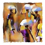 Haitian Digital Art Prints - Homeward Bound Print by Bob Salo