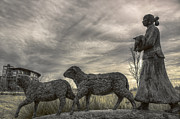 Native American Sculptures Prints - Homeward Bound Print by Jason Politte